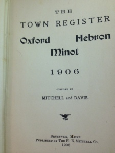 Town Report 1906 - 2