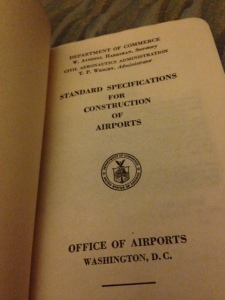 Standard Specs for the Construction of Airports 5